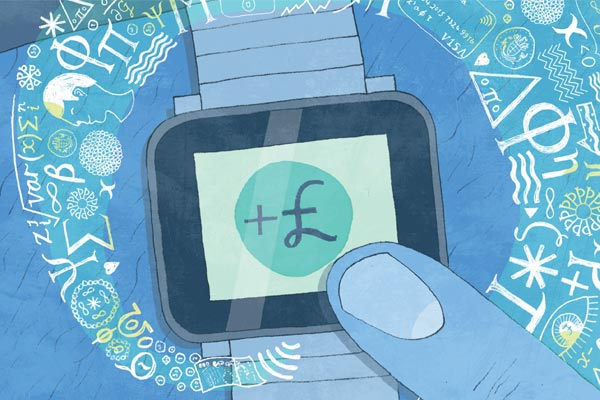 Smart-watch illustration