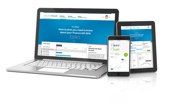 Equateplus on a laptop, mobile and tablet
