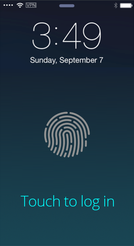mobile touch-id