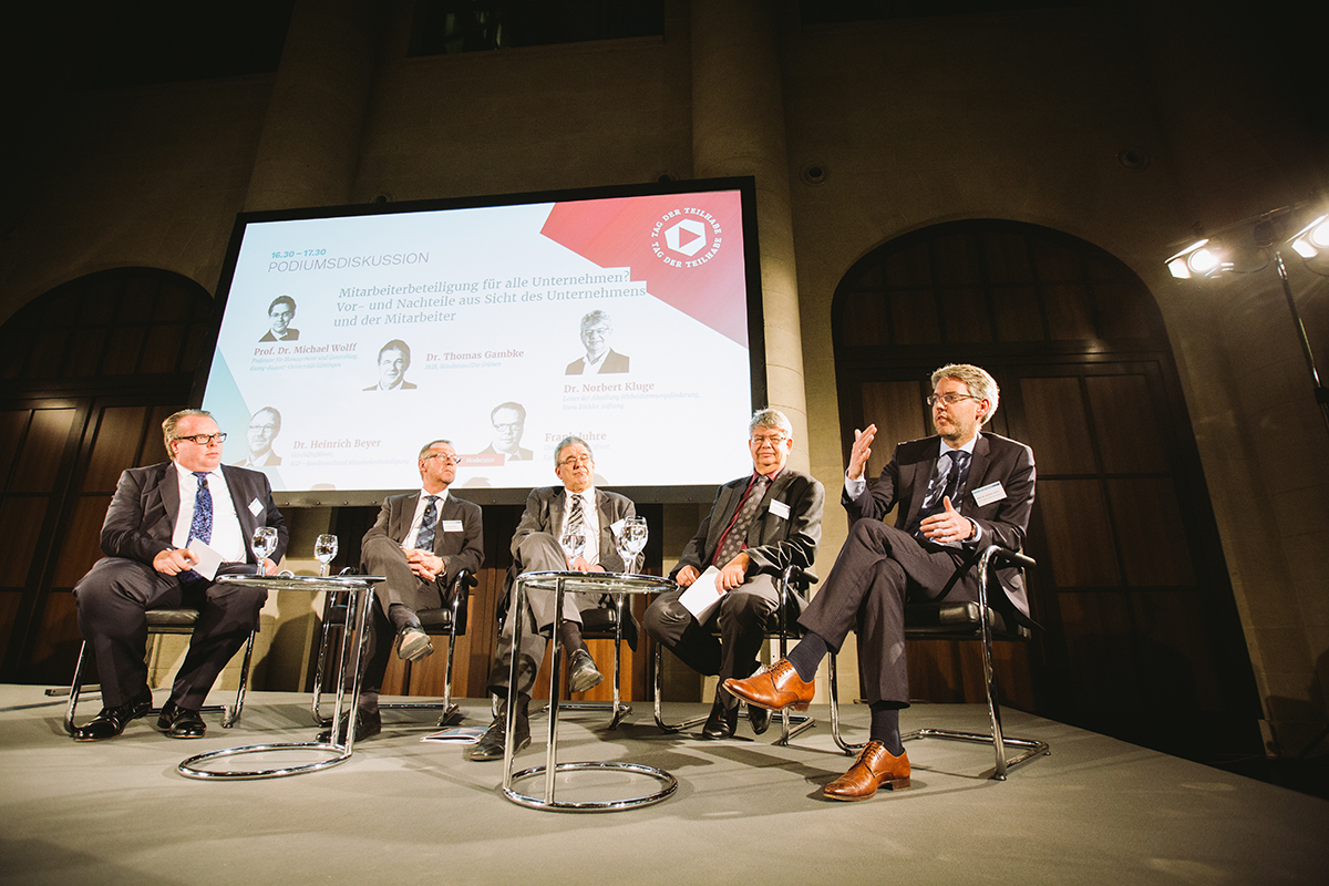 German Equity Day panel discussion