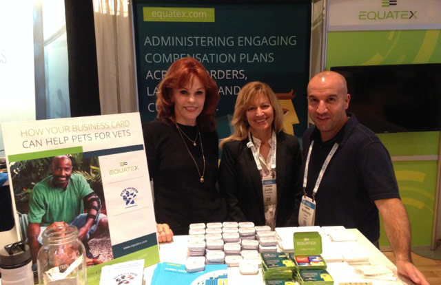 Equatex team members at the NASPP