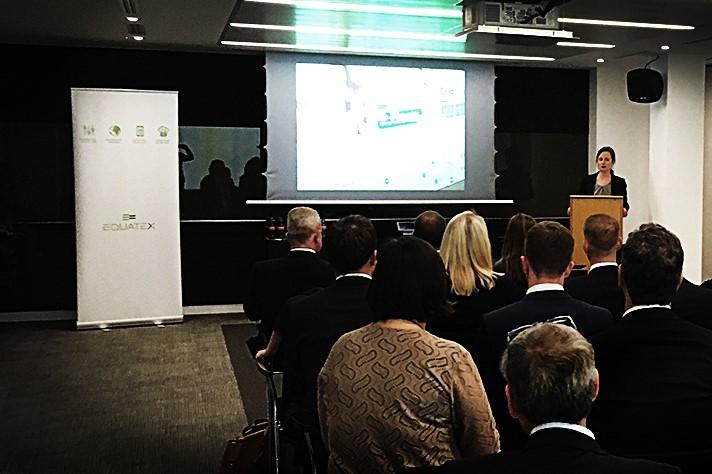 Veronique Japp at Seminar for FTSE 250