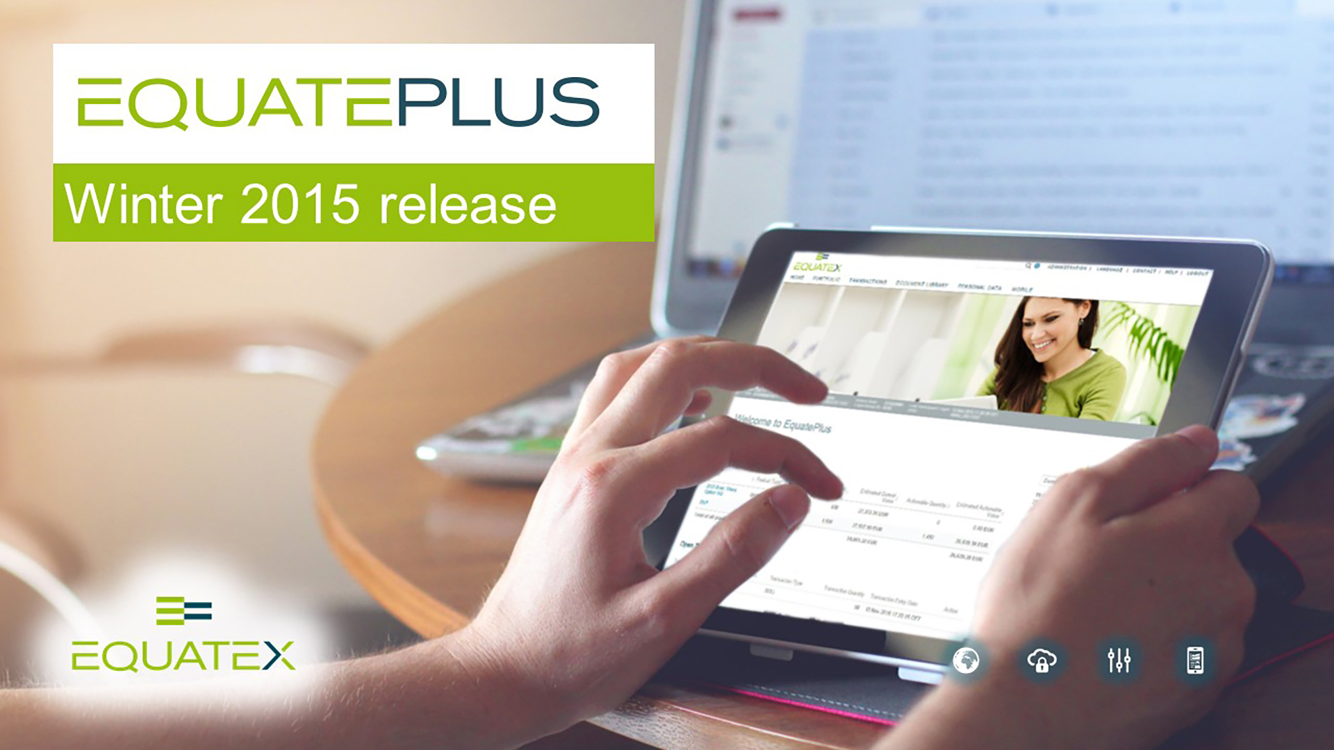 EquatePlus winter 2015 video screenshot