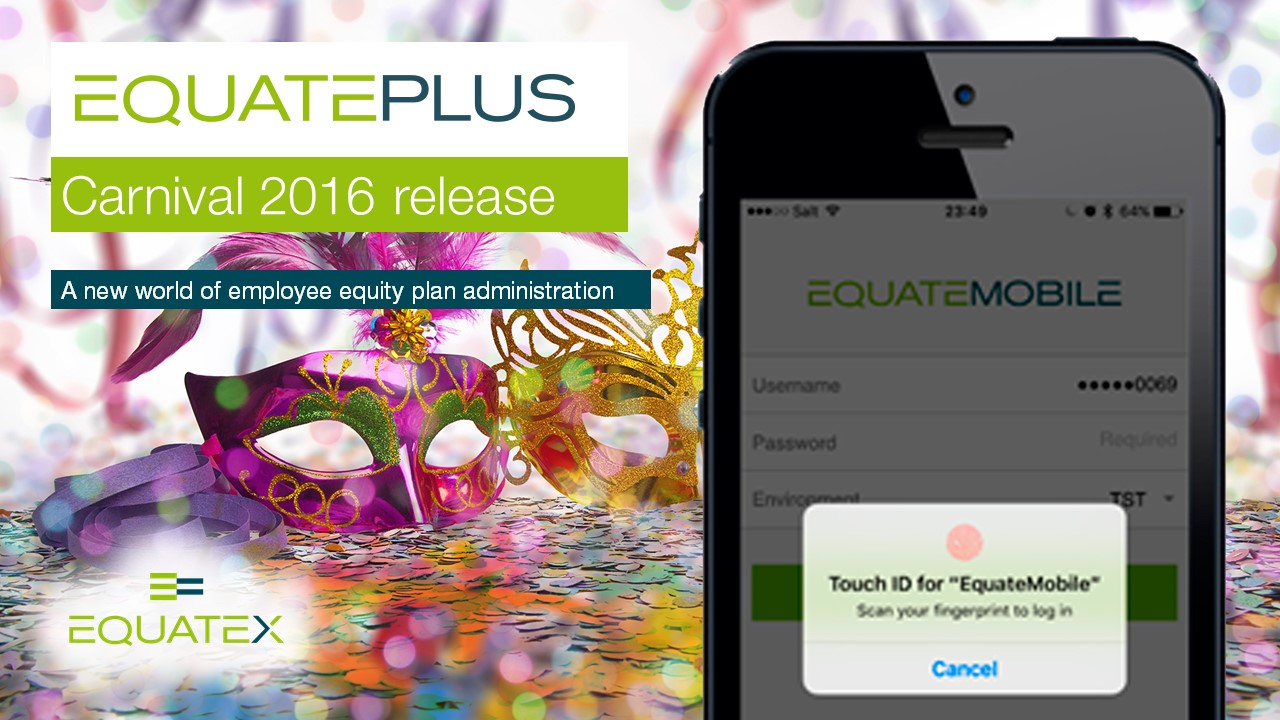 EquatePlus Carinval release video