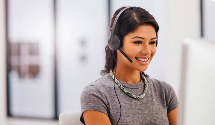 Contact centre representative