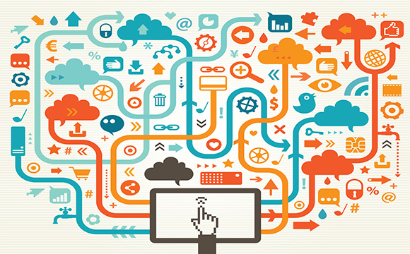 Digital channels illustrations