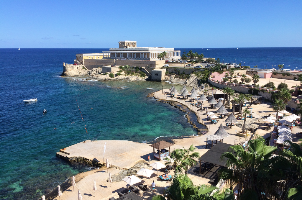 View from Dragonara resort, Malta