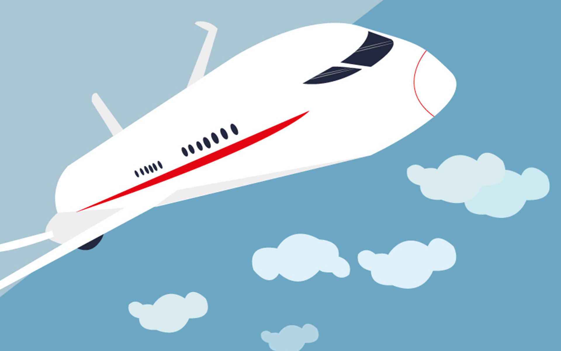 Plane illustration