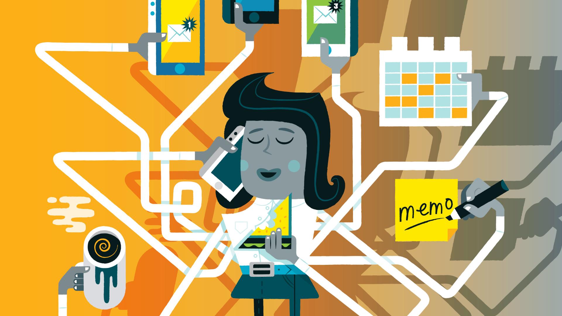 Rpoductivity illustration